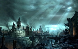 Hellgate: London, cataclysm, ruined city
