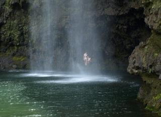 vodopád, PÁR, skála, jezero