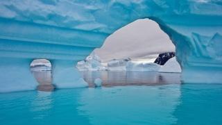 море, лед, айсберг, вода, обои, снег, зима