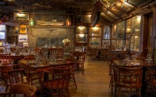 ресторан, мебель, интерьер