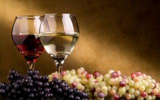 wine, grapes