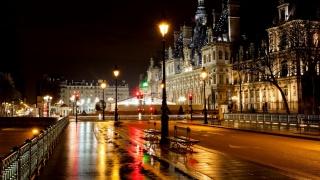 Париж, вночі, міста