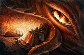 фэнтези, тема, сказка, глаз, дракона, девочка, книга, ситуация, креатив