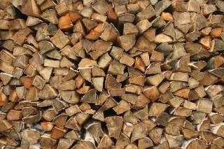 дрова, дерево, береза, Текстури
