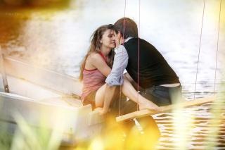 girl, guy, kiss me tight