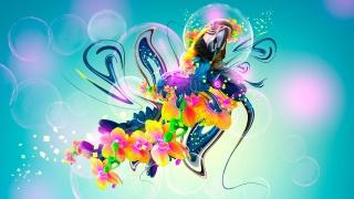 Тони Кохан, Попугай, цветы, Фэнтези, Multicolors, Неон, Пластик, летать, птица, Эл творческой, Фотошоп, HD обои, Тони Кохан, фотошоп, Попугай, Стиль, цветы, Пластика, Разноцветный, Разноцветная, птица, арт, обои, 2014