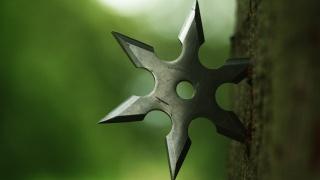 tree, shuriken, throw