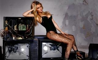 girl, beautiful, blonde, creative, photo