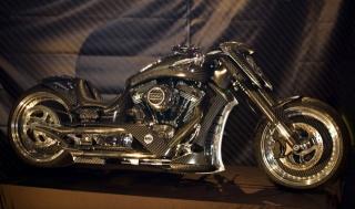 байк, мотоцикл, виставка, тюнінг, темний фон