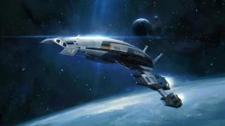Mass effect 2, Нормандія sr2 при, Нормандія, космічний корабель