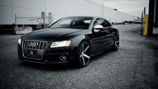 Audi S5, black