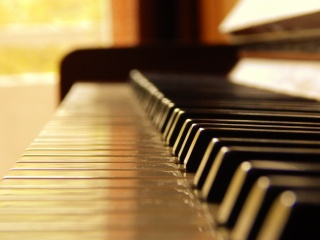 piano, keys, music