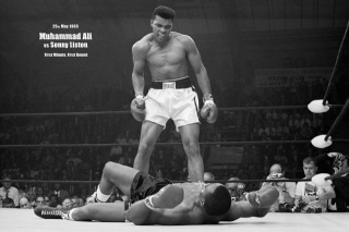 Легенда, боксу, Мохаммед, Алі, Мухаммад, Алі, ринг, удар, перемога
