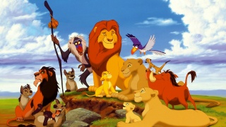 the lion king, Simba, Timon, Pumbaa, cartoon, animation, lion king