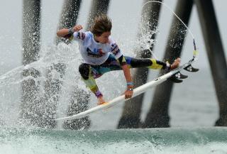 серфинг, волна, океан, доска, красота, спорт