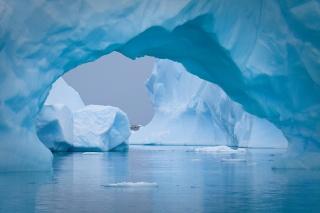 Antarktida, ledovec, krása
