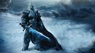 Меч, Воин, снег