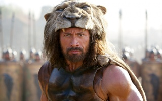 the film, Hercules, actor, Dwayne Johnson, Warrior, lion, macro, army