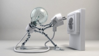 light, socket, light, electricity, life, wire, fork, techno, screws, ROBOT, nuts