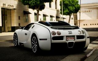 Bugatti Veyron, Белая
