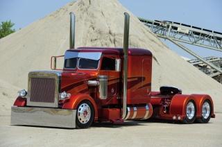 kamión, Amerika