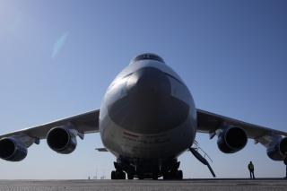letadlo, obrovský, Ruslan, kabina