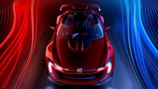 Volkswagen GTI Roadster, Volkswagen, auto elegance, krása, Červená