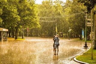 дощ, Любов, почуття, краса