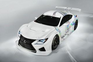 Lexus RC F GT3, auto elegance, krása
