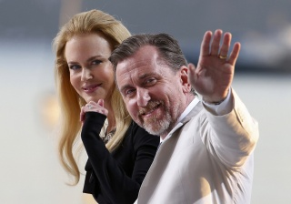 Nicole Kidman, Tim Roth, actors, chic, beauty