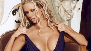 jenna jameson, блондинка, секси, грудь, взгляд