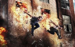 Paul Walker, David Belle, 13th district: Brick mansions, movie 2014