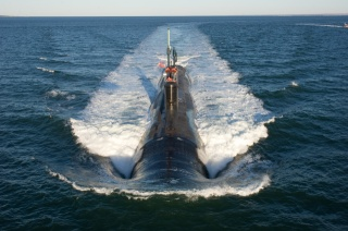 Navy, USA, the ocean, submarine, shore