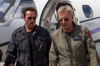 The expendables 3, the film, 2014, Arnold Schwarzenegger, Harrison Ford