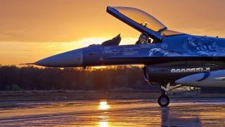 letadlo, fighting falcon, f-16, general dynamics