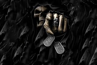 монстр, скелет, череп