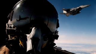 air force, letadlo, leták, nebe