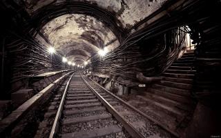 метро, подземка, гранж