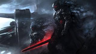 Меч, воїни, тінь