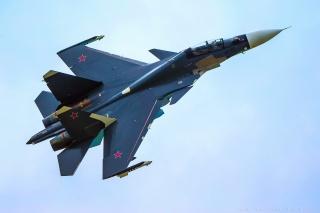 su-30sm, the sky, su-30cm