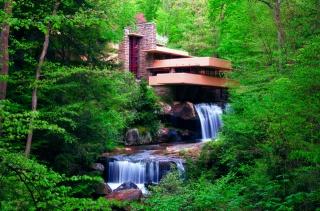дом и уют, природа, водопад, каскады, деревья, река, лес, красиво