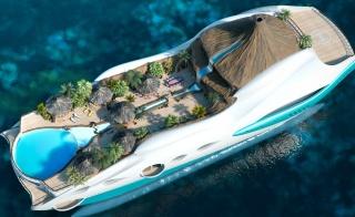 супер, корабль, дом и уют, вода, отдых, курорт, бассейн, бунгало