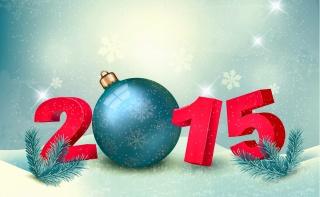 Nový rok, 2015, art, práce, svátek