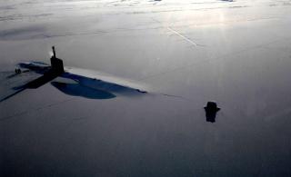 зима, лід, люди, підводний човен, білий фон, сніг, красиво, зброя
