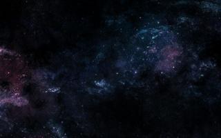 Open space, stars, nebula