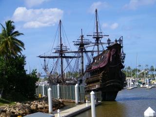 Pomsta královny Anny, loď