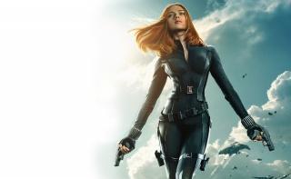 Scarlett Johansson, actress, weapons
