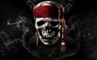 Пираты Карибского моря, череп