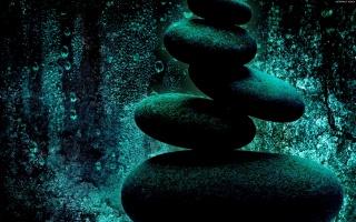 камень, минимализм, вода