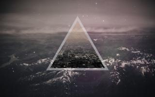 треугольник, треугольник, город